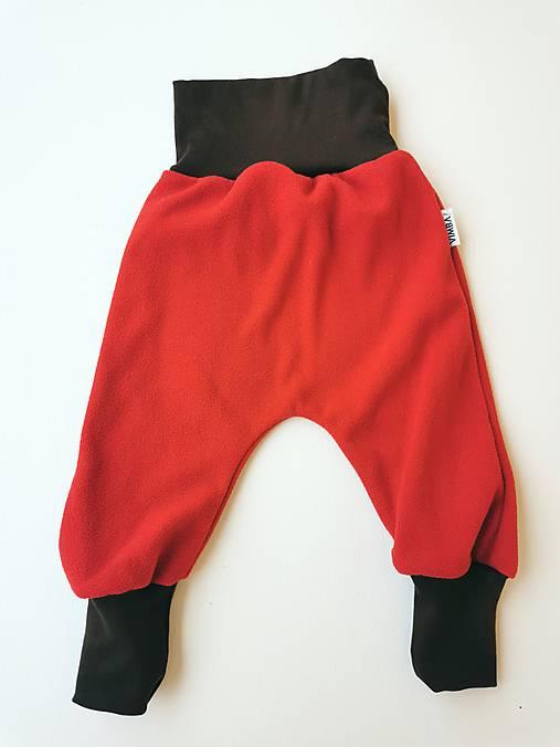 """Flísové nohavice """"líštička"""""""
