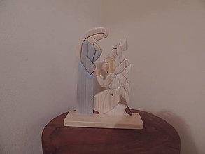 Socha - Panna Mária a archanjel Gabriel - 12736125_