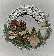 Dekorácie - Veniec vianočný 53 - 12737401_