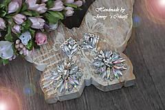 Náušnice - Náušnice AB crystals - 12737050_
