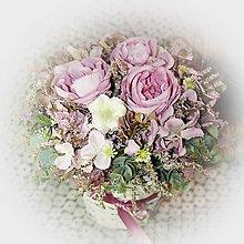 Dekorácie - Větší romantický koš - 12736995_