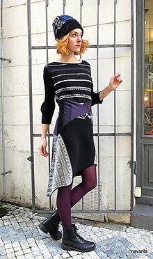 Šaty - ANULE -sešívané retro šaty - 12733593_