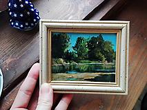 Obrazy - Mini obraz rieka - 12734405_