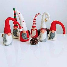 Dekorácie - Vianoční škriatkova - 12736708_