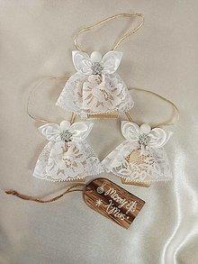 Dekorácie - Vianočný anjelik - 12734028_