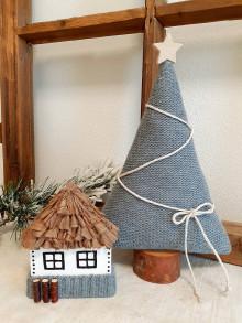 Dekorácie - Domček a stromček - 12734766_