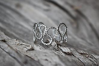 Prstene - Strieborný_vrtivý - 12738930_
