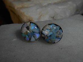 Náušnice - opals-in silver-naušnice-napichovacie- - 12741818_