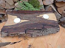 Svietidlá a sviečky - Orechový svietnik natur 6 - 12738247_