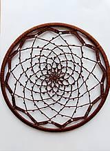 Dekorácie - Lapač snov- kruhový komponent - 12738246_