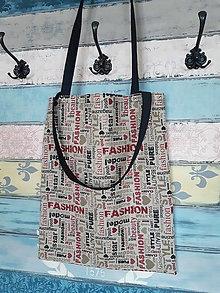 Nákupné tašky - Nákupka Fashion - sleva ze 7eur - 12737970_