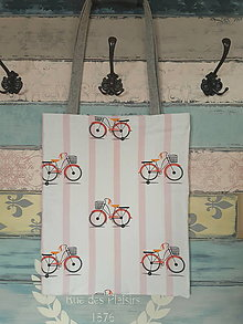 Nákupné tašky - Taška pro cyklistku - sleva z 8eur - 12737994_