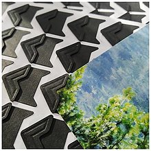 Papier - Fotorožky  (Čierne) - 12740060_