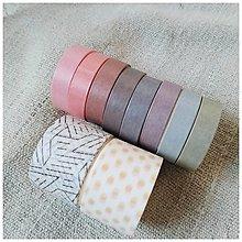 Papier - Washi pásky (SET 10ks) (Ráno) - 12740219_