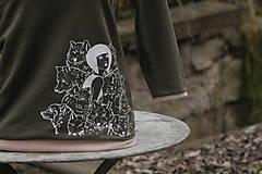Tričká - Tričko ,,Ženy, které běhaly s vlky,, vel. S-M (Hnedá) - 12741060_