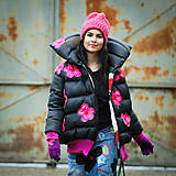 Kabáty - Origo vetrovka paperoško limit kvety - 12740995_