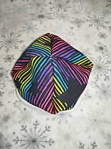 Rúška - SET rúško, čiapka a nákrčník z bavlnenej teplákoviny (detská čiapka) - 12744943_