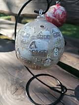 Dekorácie - BLACK FRIDAY Vianočná dekorácia - svietnik - 12743447_