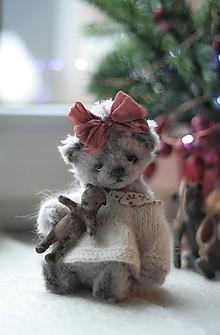 Hračky - Mini medvedica Lidka - 12742363_