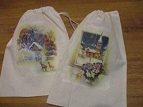 Úžitkový textil - Bavlnené vrecko - 12744815_