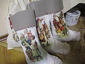 Úžitkový textil - Mikulášska čižma - 12744881_