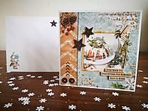 """Papiernictvo - Vianočná pohľadnica """"Bábovka"""" - 12744437_"""