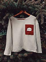 Mikiny - Upcyklovaný sveter - 12744461_