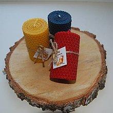 Svietidlá a sviečky - Farebné točené valce - 12745719_
