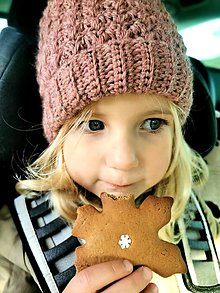 Detské čiapky - Čiapka - vlna a alpaka - už mi zima nebude - 12745510_