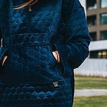 Kabáty - Modrá bunda LOVA - 12743368_