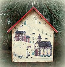 Dekorácie - Vianočná ozdoba - 12744095_