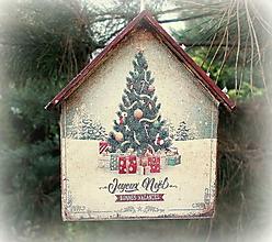 Dekorácie - Vianočná ozdoba - 12744154_