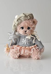 Hračky - Háčkovaný medvedík Sophie - 12743149_