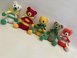 Hračky - Výpredaj 2  !!!  sediaci Maco/macko/Medveď/ - 12744893_