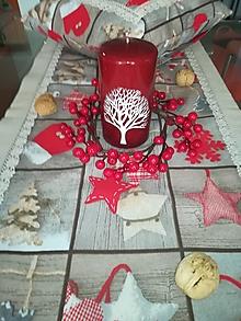 Úžitkový textil - Vianočný stredový obrus - 12748970_