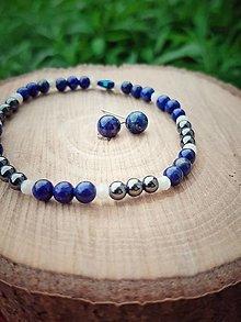 Sady šperkov - Sada s Lapis Lazuli - 12748588_