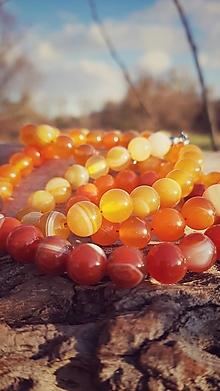 Sady šperkov - Náhrdelník s náramkom SLNKO - 12748798_