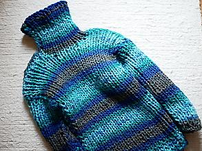 Detské oblečenie - Roláčik s pruhmi - 12749912_