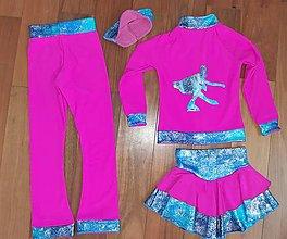 Detské oblečenie - Komplet na krasokorčuľovanie - 12749111_