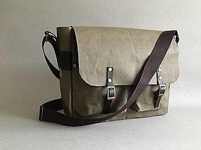 Tašky - Messenger bag for him - 12747907_