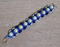 Náramky - Tyrkysovo modrý náramok - 12747526_