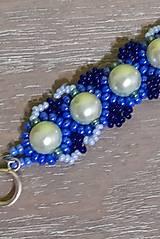 Náramky - Tyrkysovo modrý náramok - 12747529_