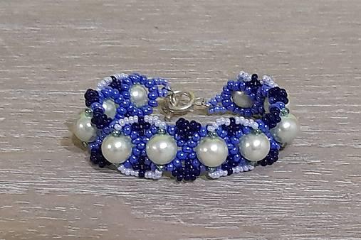 Tyrkysovo modrý náramok