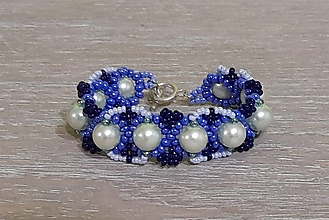 Náramky - Tyrkysovo modrý náramok - 12747568_