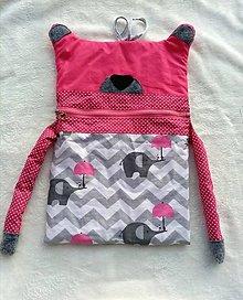 Úžitkový textil - Pyzamozrut - 12748127_