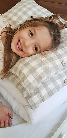 Úžitkový textil - Ľanové posteľné obliečky - 40 farieb - 12746883_