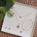 Sady šperkov - LAYLA set vrstvených šperkov, strieborný - 12746678_