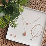Sady šperkov - LAYLA set vrstvených šperkov, rosegold - 12746695_