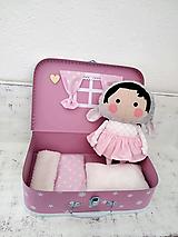 Hračky - Ovečka v kufríku - 12748645_
