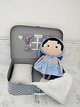 Hračky - Zajačica v kufríku - 12748750_